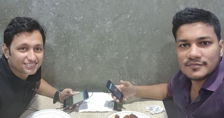 ডা. ফাহাদের ফেসবুকে দেয়া শেষ ছবি। গত বছরের ১৩ আগস্ট এ ছবিটি নিজের টাইমলাইনে এ ছবিটি তিনি আপলোড করেছিলেন