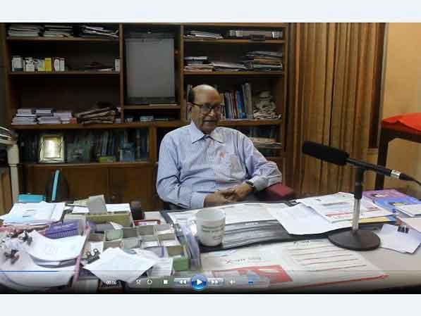 ভালো চিকিৎসক হওয়ার আগে ভালো মানুষ হওয়া জরুরী: জাতীয় অধ্যাপক ডা. এম আর খান