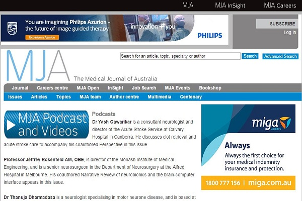 The Medical Journal of Australia (MJA)