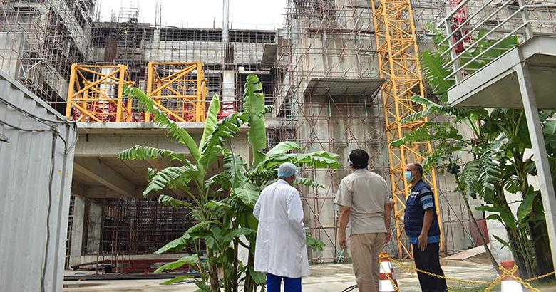 করোনায় বিএসএমএমইউর স্পেশালাইজড হাসপাতালের নির্মাণকাজ অব্যাহত